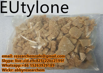High Purity Research Chemical Intermediates Eutylone Brown Color 99.9% Purity EU